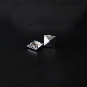 Aluminium Mirror Square cap C31