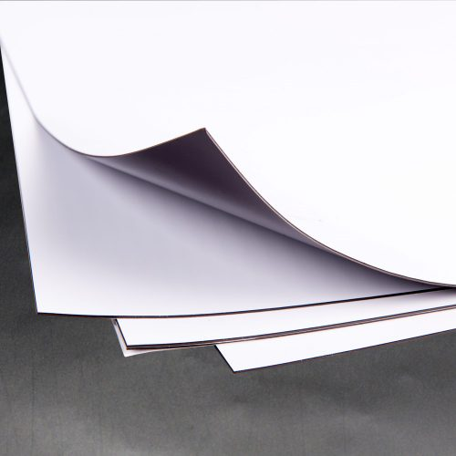 Magnetic Sheeting – Matt White 0.85mm