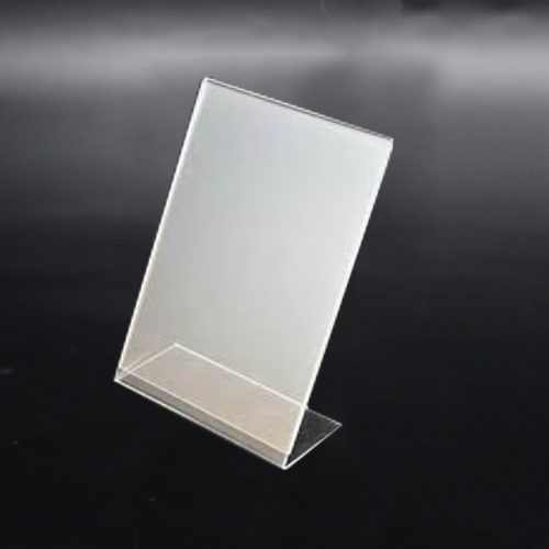 Menu Stand Single-Sided – Clear