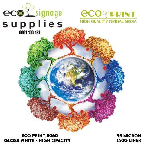 Eco-Print 5060 White High Opacity – 50m