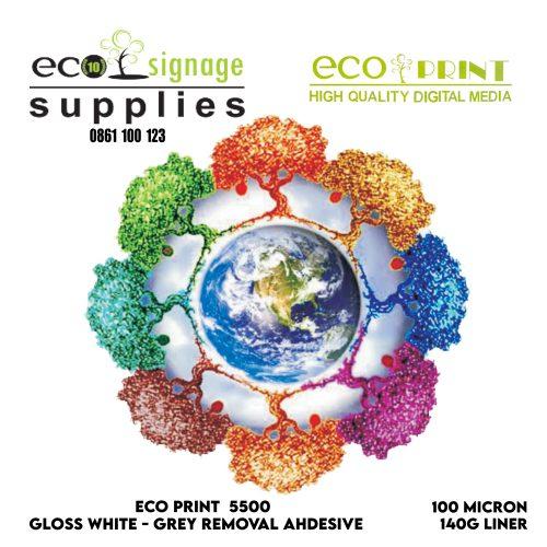 Eco-Print 5500 White/Grey Remove
