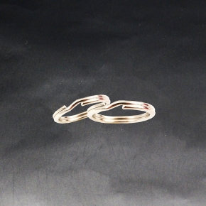 Nickel Split Ring