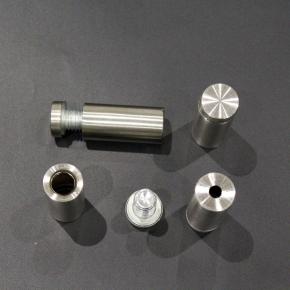 Aluminium Standoff B37 16x40mm Matt