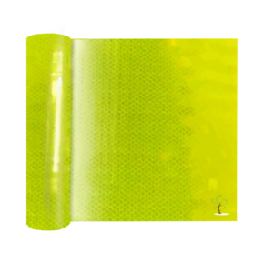 Lime yellow prismatic