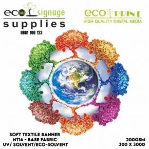 soft textile banner