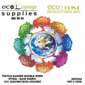 textile banner double sided